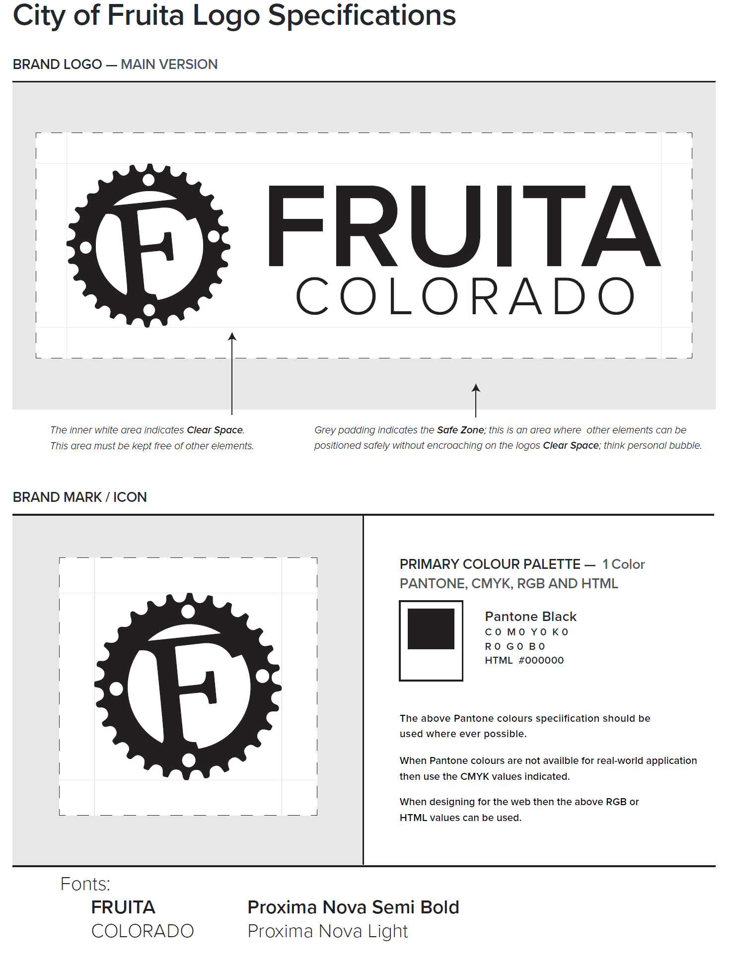 Fruita Colorado Trademark License Agreement City Of Fruita Colorado